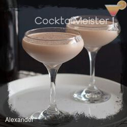 Alexander cocktail
