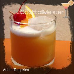 Arthur Tompkins cocktail