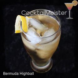 Bermuda Highball cocktail