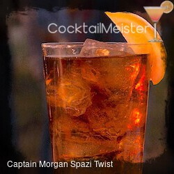 Captain Morgan Spezi Vanilla Twist cocktail