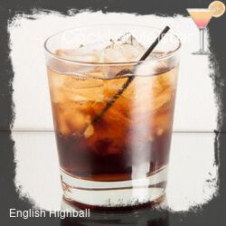 English Highball cocktail