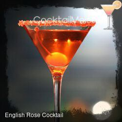 English Rose Cocktail cocktail