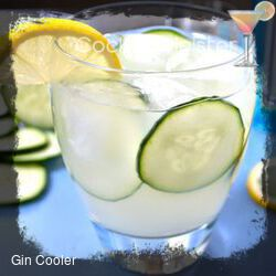 Gin Cooler cocktail