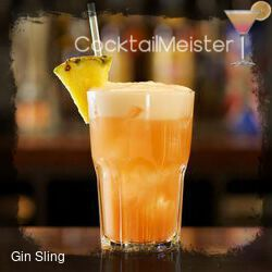 Gin Sling cocktail