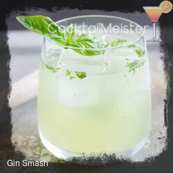 Gin Smash cocktail