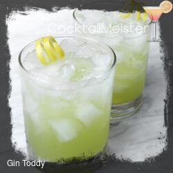 Gin Toddy cocktail