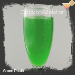 Green Death cocktail