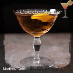 Martinez Cocktail cocktail
