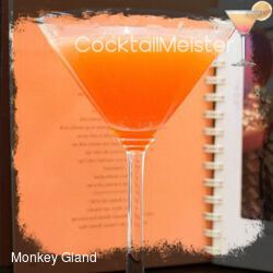 Monkey Gland cocktail