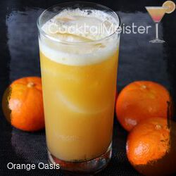 Orange Oasis cocktail