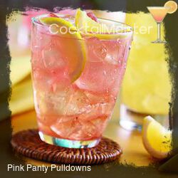 Pink Panty Pulldowns cocktail