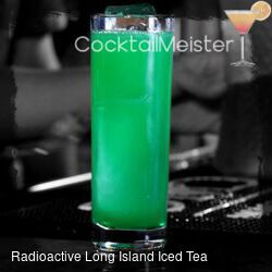 Radioactive Long Island Iced Tea cocktail