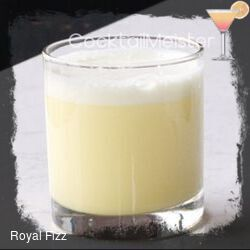 Royal Fizz cocktail