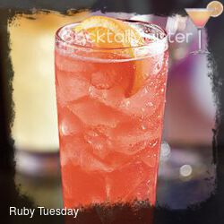 Ruby Tuesday cocktail